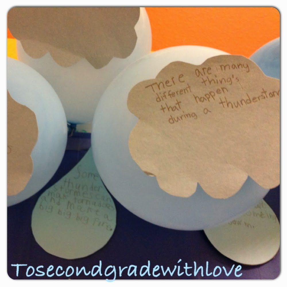 to learning with love main idea clouds