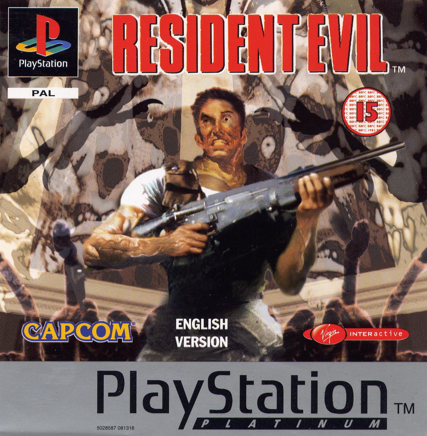 Imagen de la Portada del Resident Evil para PlayStation (1) en 1996