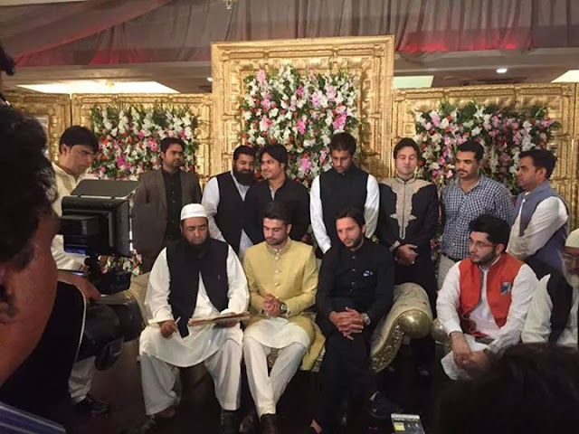 Cricketer Ahmed Shahzad has married his cousin Sana