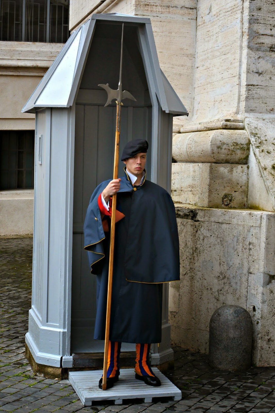 Swiss Guard at the Vatican Holy See