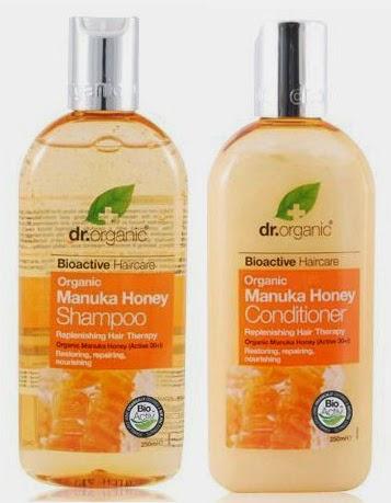 dr organic miel manuka champu acondicionador