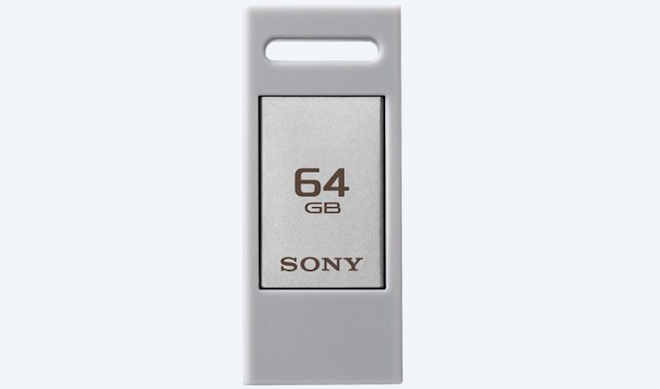 Sony Upcoming USB Type-C Flash Drive