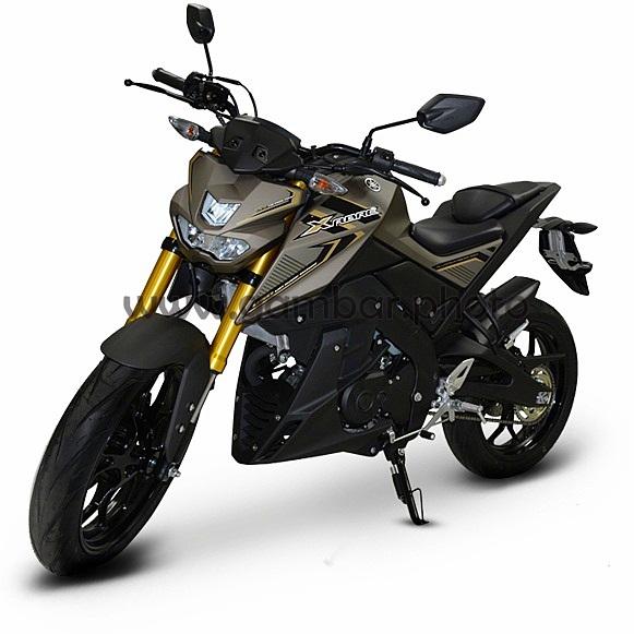 Yamaha Xabre gunmetal katana