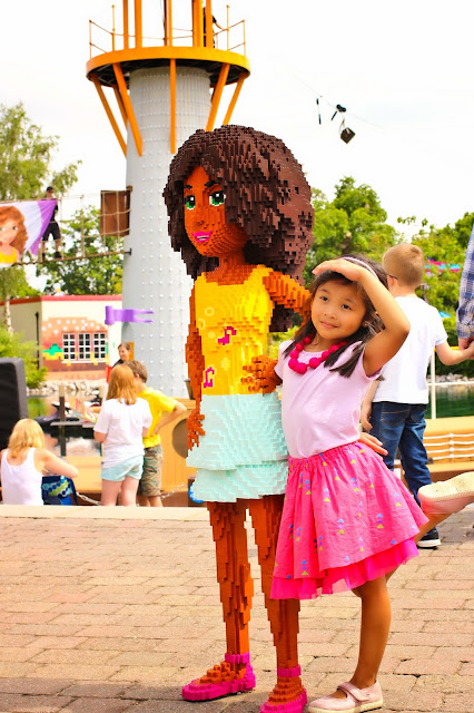 Mary wearing Cienta shoes and a Siaomimi Skirt at Legoland Windsor | Chichi Mary Kids Boutique