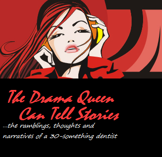 the drama queen can tell stories