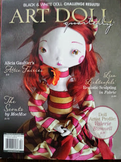 Featured in Art Dolls Quarterly