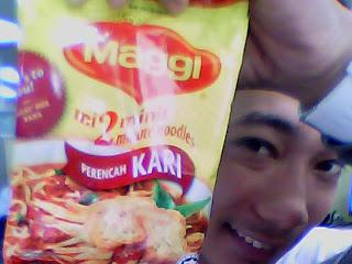 Day 26: Maggi Perencah Kari Noodles