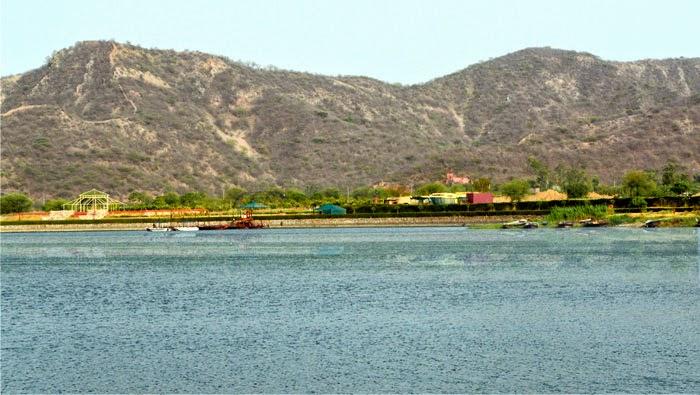 Boating Stand at Jal Mahal
