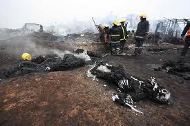 FIRE IN SINAI NAIROBI KENYA.