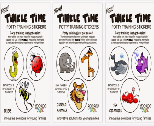 TINKLE TIME MAGIC RE-USABLE POTTY TRAINING SYSTEM