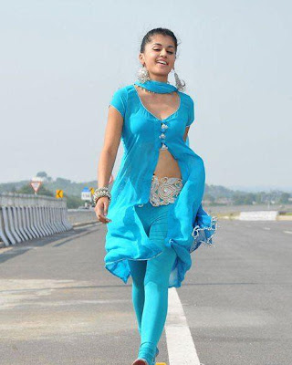 tapsee from mogudu movie glamour  images