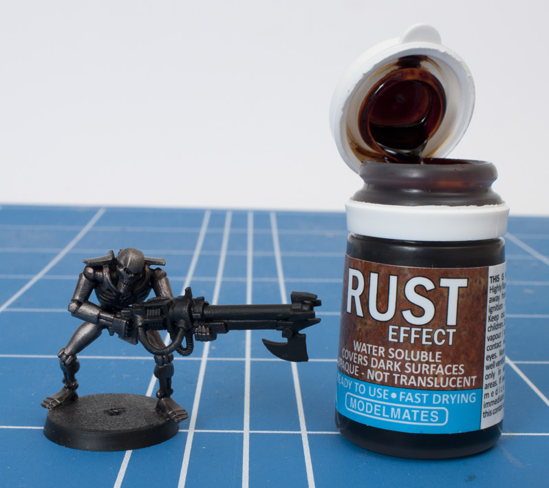 review liquid rust by modelmates tale of painters