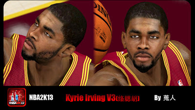 NBA 2K13 Kyrie Irving Cyberface Patch V3
