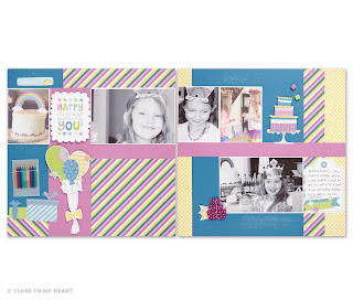 CTMH Confetti Wishes Scrapbook Kit