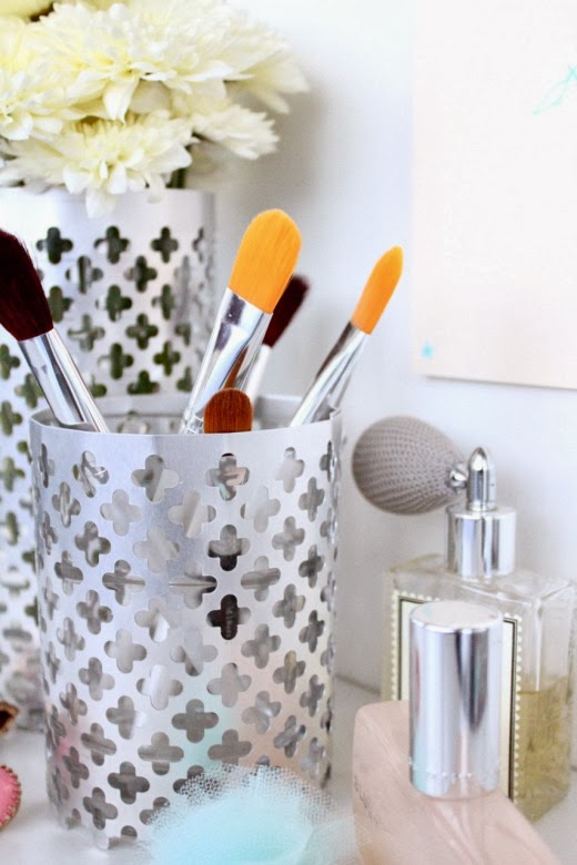DIY  Aluminum Vase & Utensil Holders