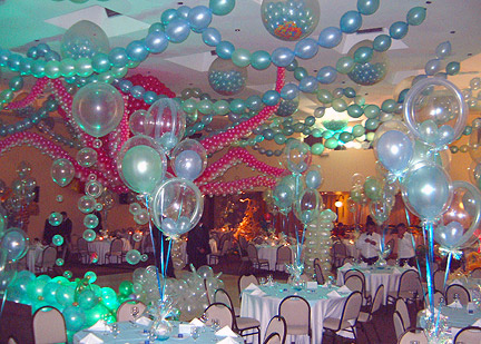 DECORATING WITH BALLOONS IDEAS | BEST DECORATING IDEAS 2014