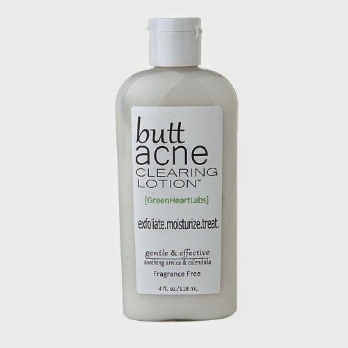 Butt Acne Clearing Lotion treatment for Body acne or keratosis pilaris