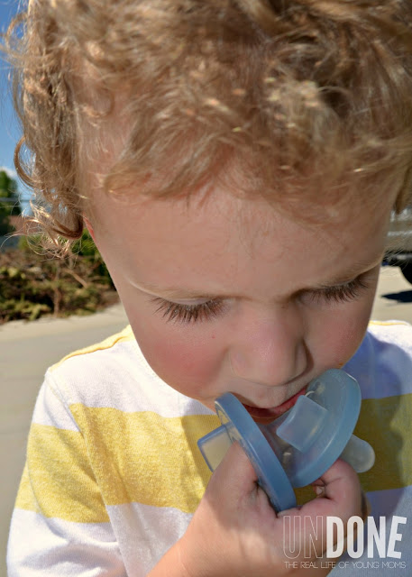 {The UNDONE Blog} The Binky Fairy - How to get your little one to give up the binky