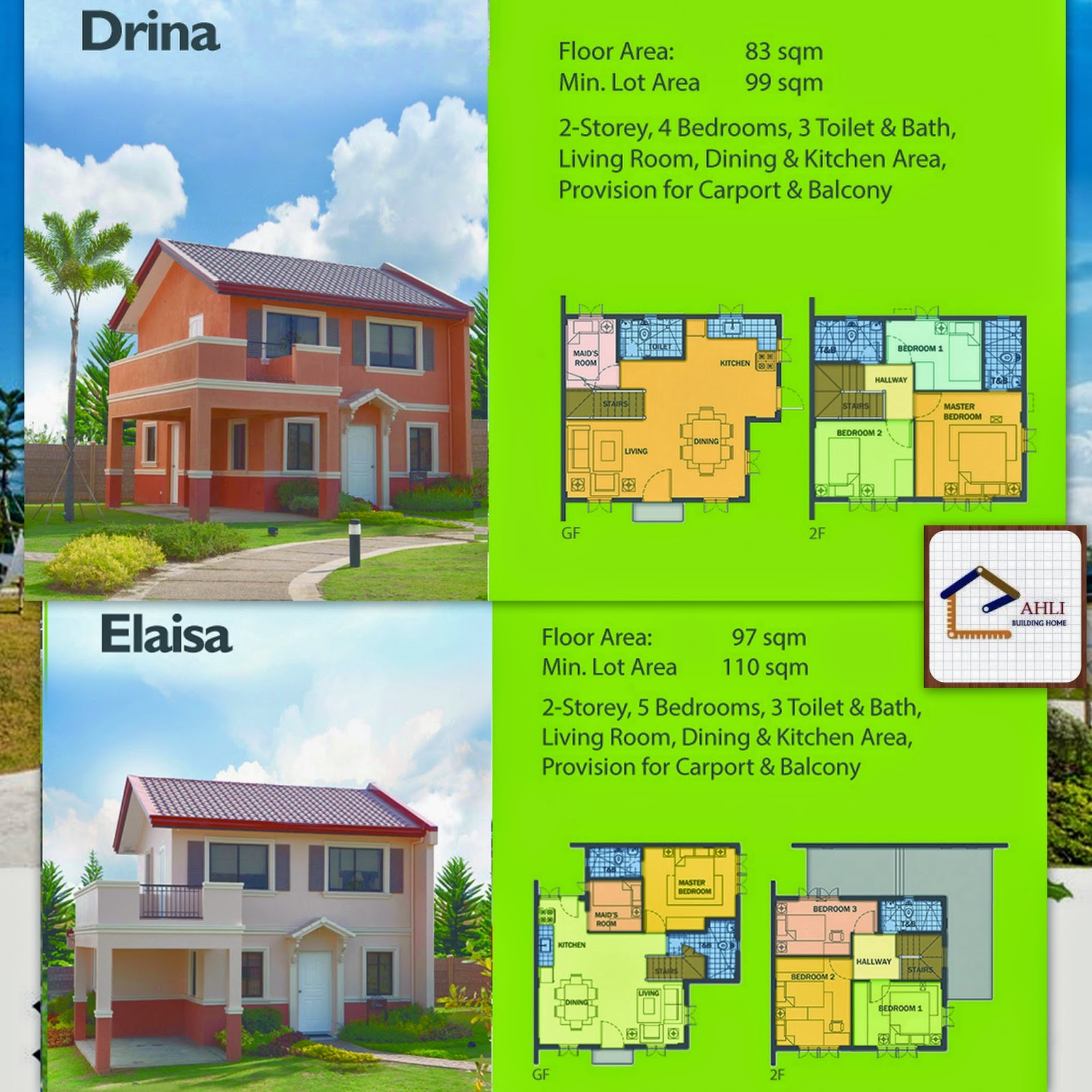 Camella homes house and lot near tagaytay city - Camella Series House