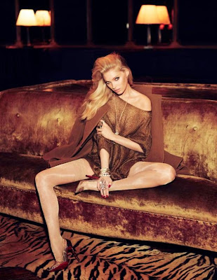 Elsa Hosk Vogue Mexico Magazine September 2014 photoshoot