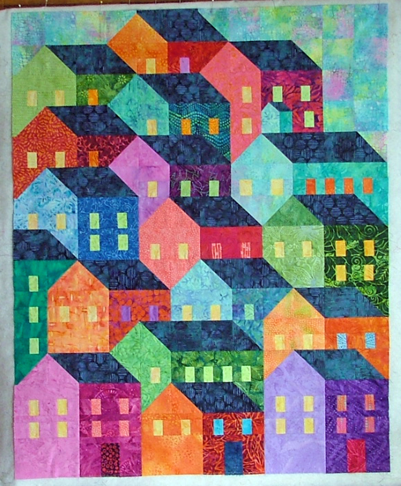Quilt crossing there 39 s gold in them thar hills and for House patterns