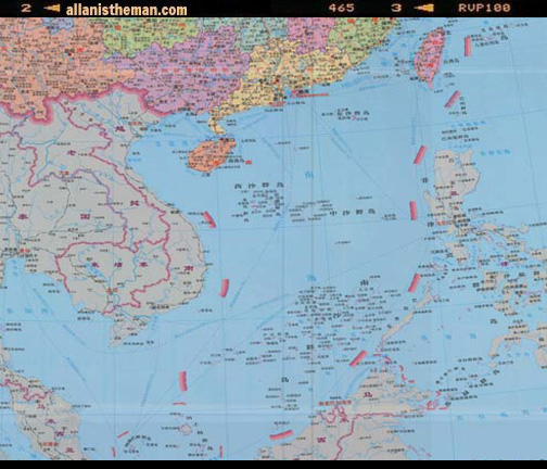 China new 10-dash line Sinomap Press map
