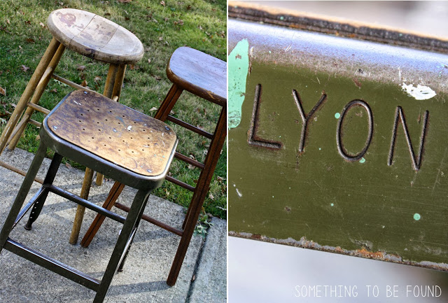 Lyon Metal Stool