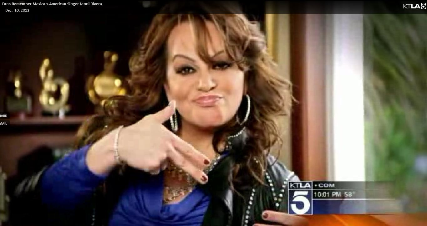 Celebrity News: Mexican-American Singer Jenni Rivera Dies in Plane