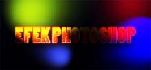 cara membuat efek glow dan efek text neon warna warni dengan photoshop