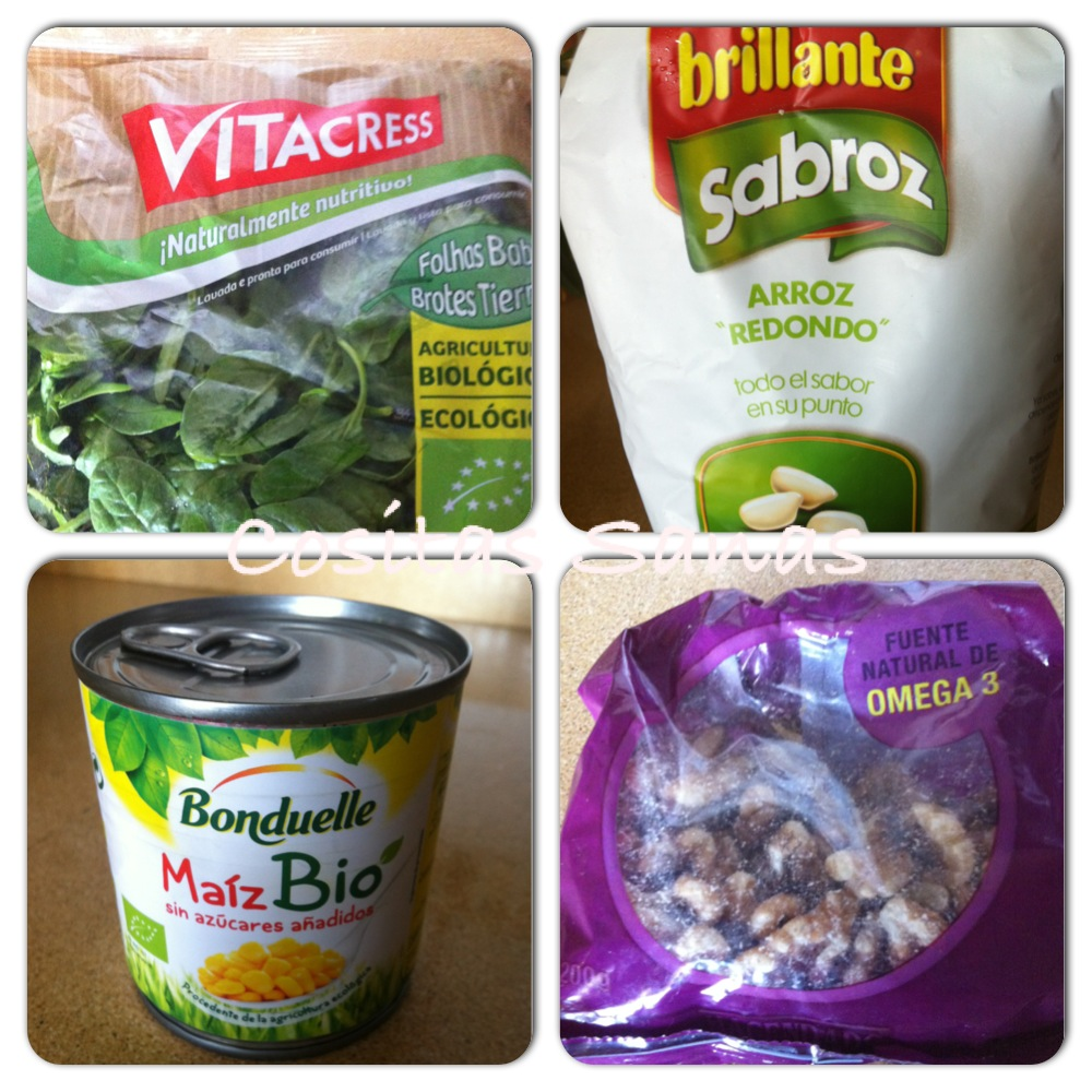 receta ensalada de arroz, comida ecológica