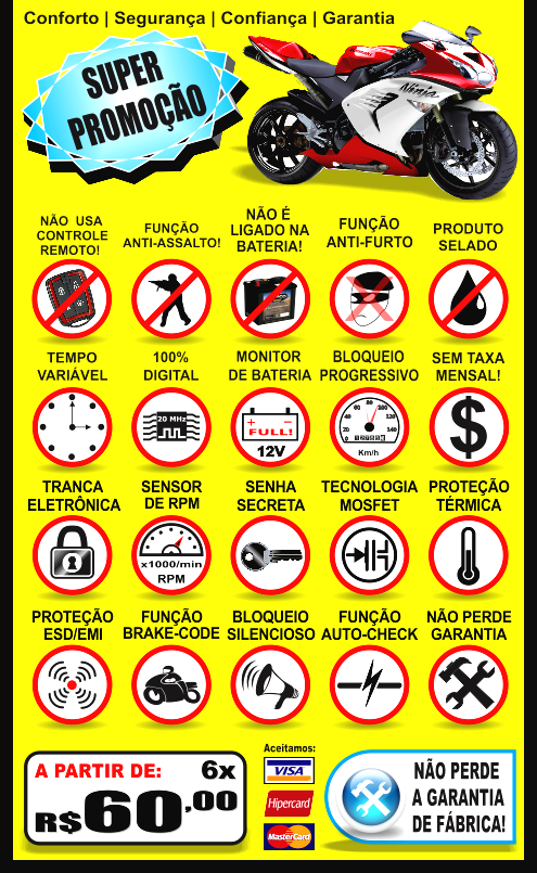alarme para moto