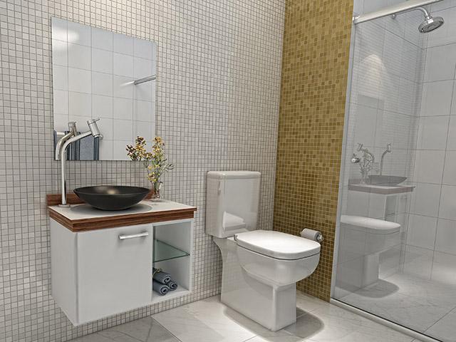Doutor da Construção Ideias para banheiros pequenos -> Banheiro Pequeno E Barato