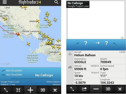 Balon Udara Telah Melintasi Indonesia (project loon)
