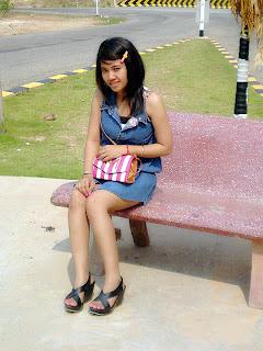 Ny Ya facebook girl the student study at Norton University 1