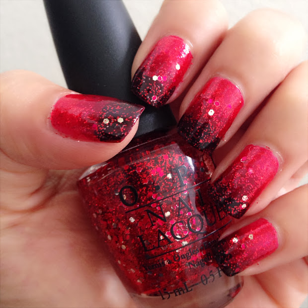 dsk steph holiday red glitter