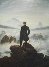 Caminante sobre el mar de niebla.