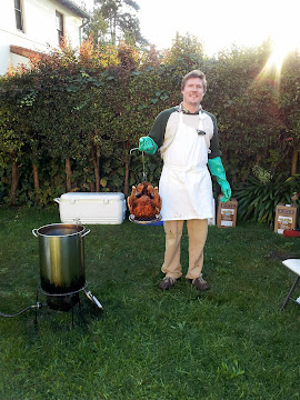Deep-Fried Turkey Insanity.