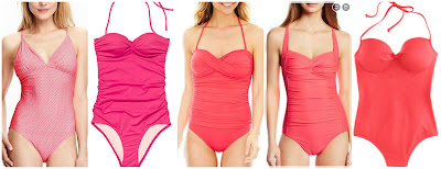 Old Navy Cross Back Swimsuit $35.00 (regular $39.94)  Victoria's Secret Forever Sexy The Knockout One-Piece $44.99 (regular $78.50) alternate link  Liz Claiborne Twist Bandeau One Piece Swimsuit $48.00 (regular $80.00)  Seafolly Goddess Twist Bandeau Bikini Top One Piece Swimsuit $61.27 (regular $142.00)  J. Crew Italian Matte Knotted Underwire One Piece Swimsuit $99.99 (regular $125.00)