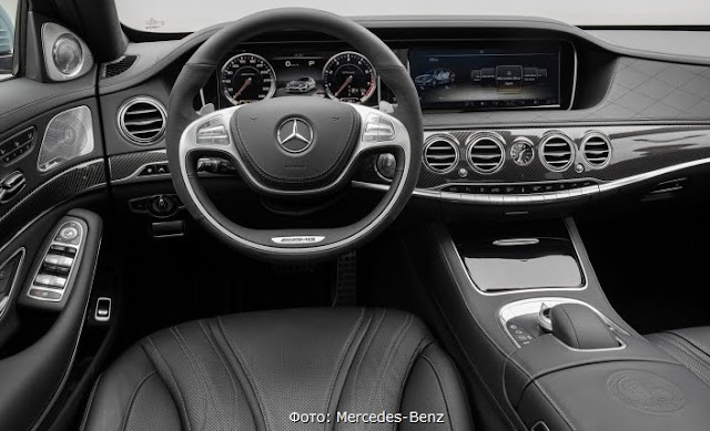 в салоне салон 2013 Mercedes-Benz S63 AMG 4Matic