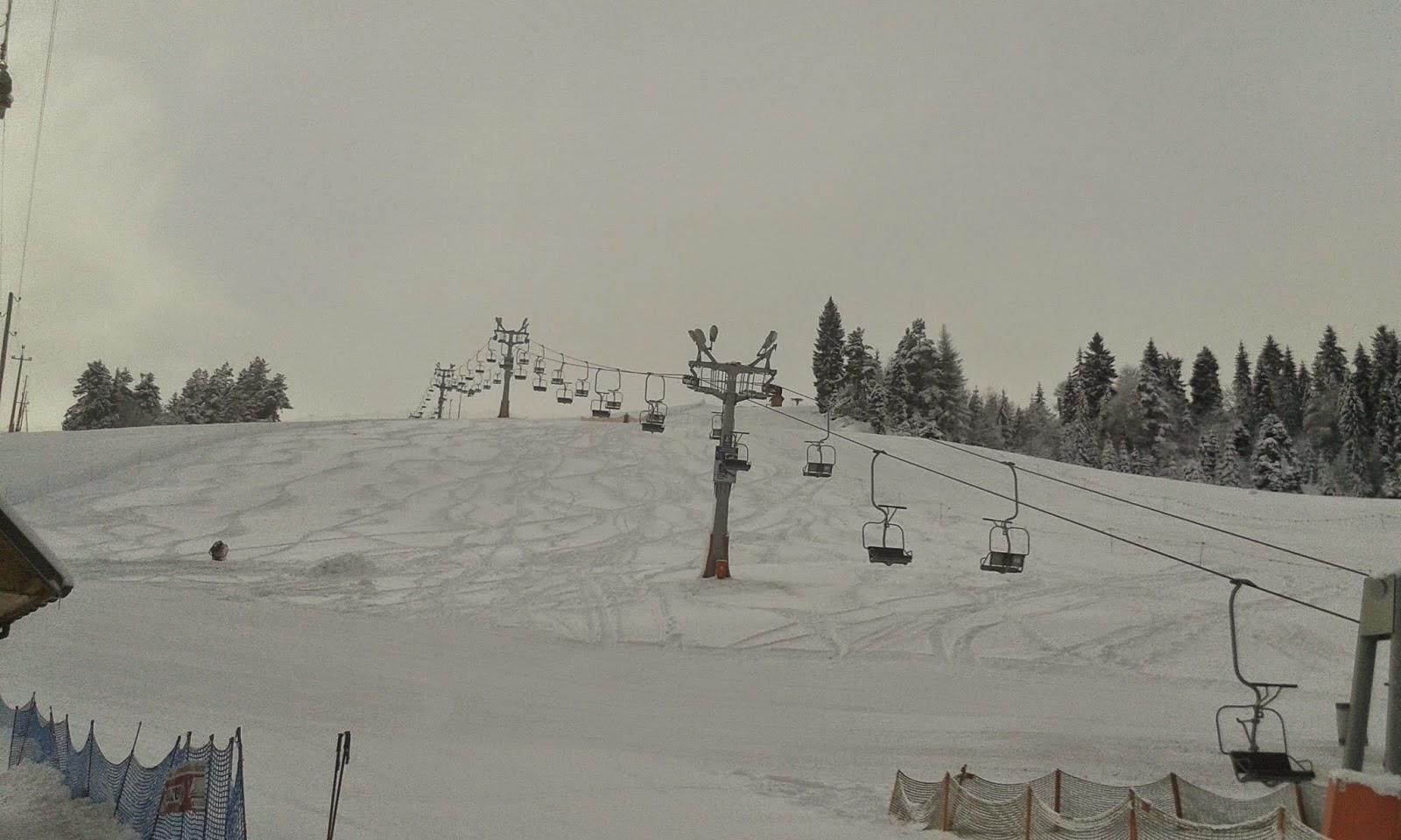 Arena Homole trasa narciarska
