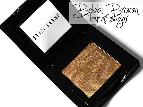 Bobbi Brown Burnt Sugar Eyeshadow Review