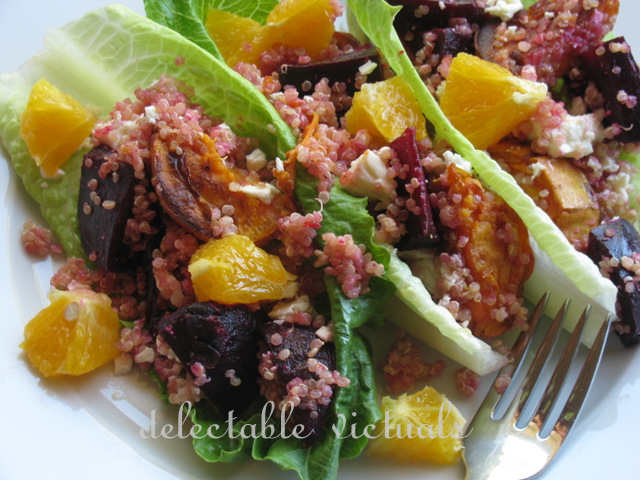 quinoa beets sweet potatoes salad