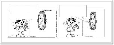 Tirinhas Turma da Mônica - Produção de texto 7