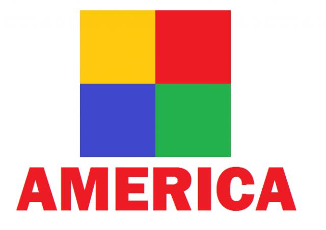 logo viejo de America
