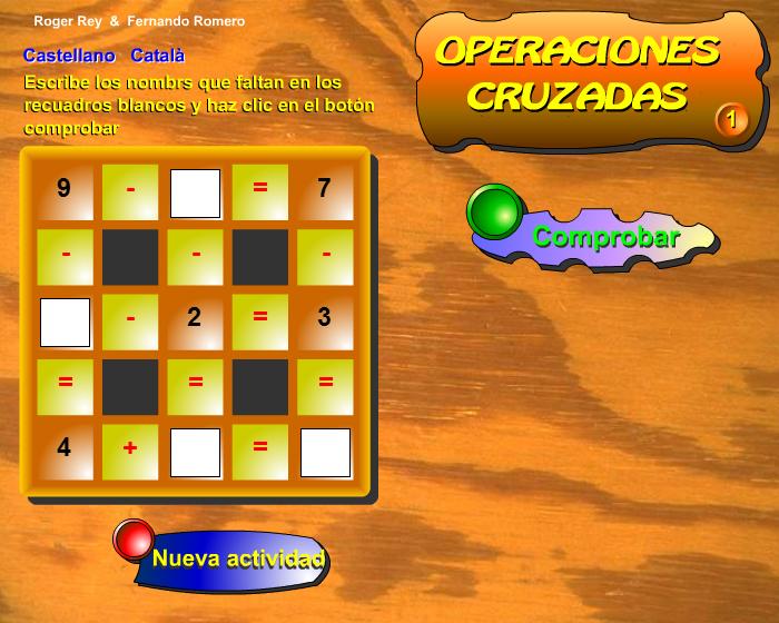 Operaciones cruzadas