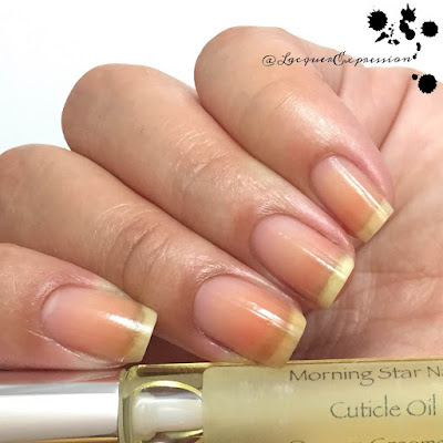 Handmade cuticle oil from Morning Star Nails
