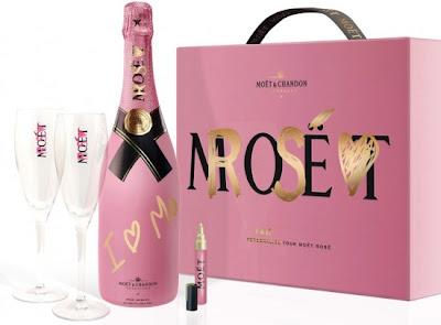 >Moët & Chandon s'habille de rose pour la St Valentin