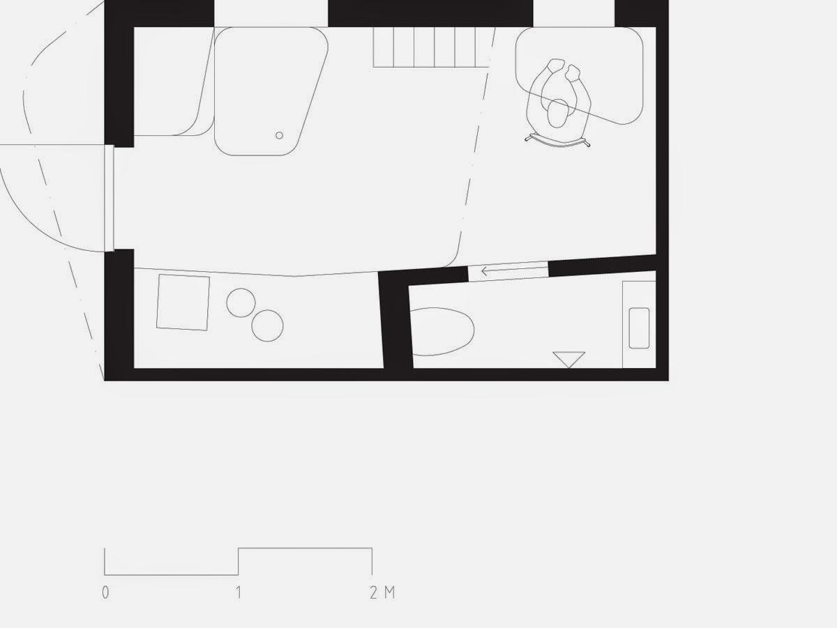 Nhà ở sinh viên nhỏ 10m2