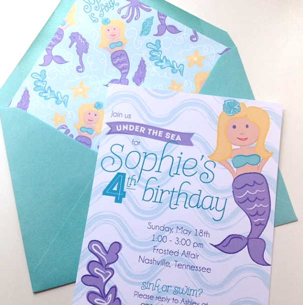Under the Sea Mermaid Birthday!