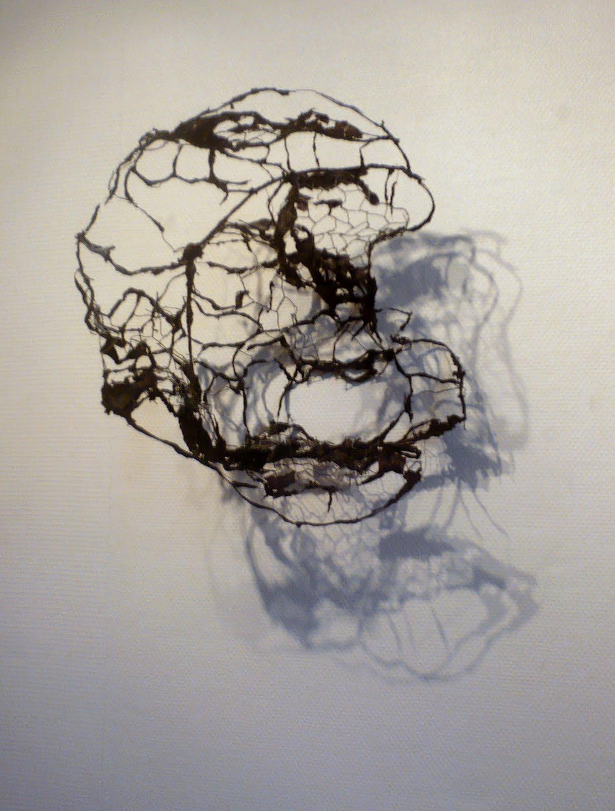 fil papier noir